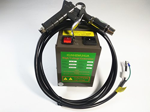 KUNHEWUHUA 4.6KV Antistatic Air Gun Ionizing Air Gun Electrostatic & High Voltage Generator (Ionizing Air)