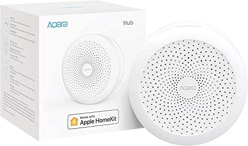 Para Aqara Hub Gateway M1S seguridad de privacidad centro de control de casa inteligente control de voz Siri luz nocturna LED
