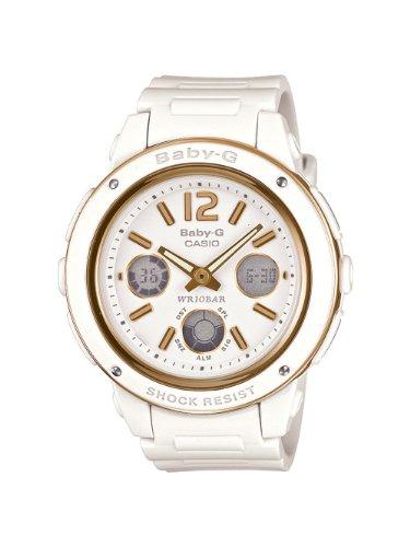 Casio Women's BGA151-7BCR Baby-G Shock Resistant Multi-Function Watch ()