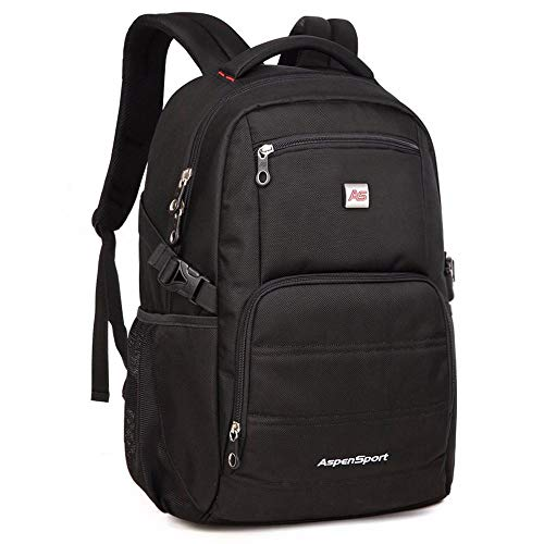 CYCY [Selected Quality Limited time Special] Ai Ben New Shoulder Bag Men's Backpack Simple Large Capacity Casual Business Travel Computer Bag Student Bag Black Standard Version_@Black Enlarged versio