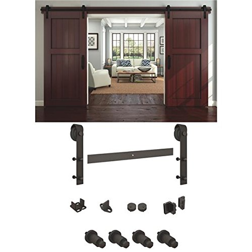 National Rustic Barn Door Hardware Kit - 1 Each by National Mfg.