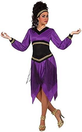 Atosa- Disfraz Mujer árabe, Color Violeta, M-L (12394): Amazon.es ...