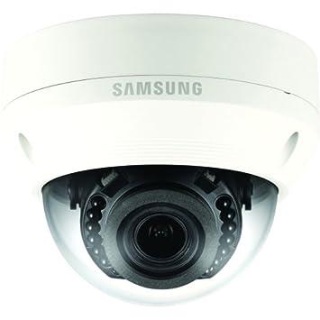 Samsung QNV-7080R Cámara de Seguridad IP Exterior Almohadilla Marfil 2720 x 1536Pixeles - Cámara