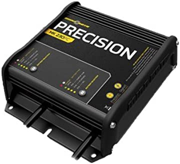 amazon com minnkota mk 210d on board battery charger 2 banks 5 rh amazon com