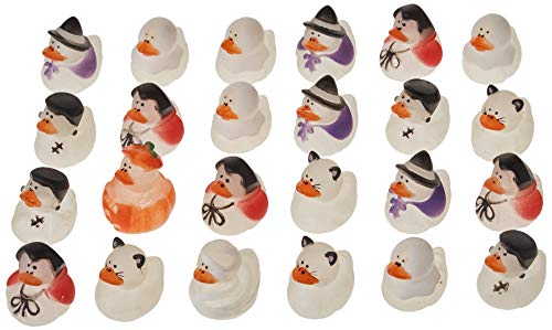 Halloween Rubber Duck (Fun Express Mini Glow-in-The-Dark Halloween Rubber Duckies - Party and)