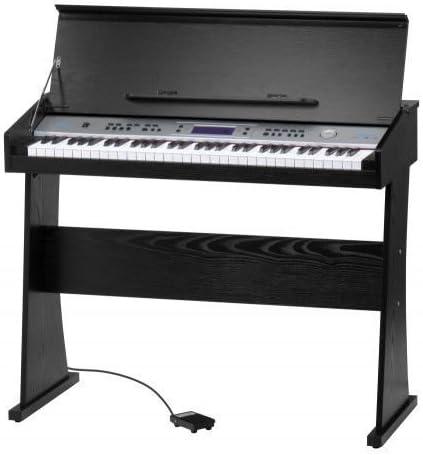 FunKey Piano digital Keyboard DP-61 II con acordes Single ...