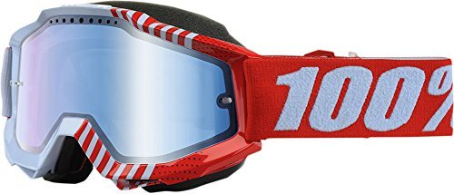 100% Accuri Cupcoy Mirror Snowmobile Goggles by 100 PERCENT