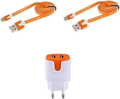 Shot Case Pack para iPhone 11 Lightning (2 Cables Cargador y Doble ...