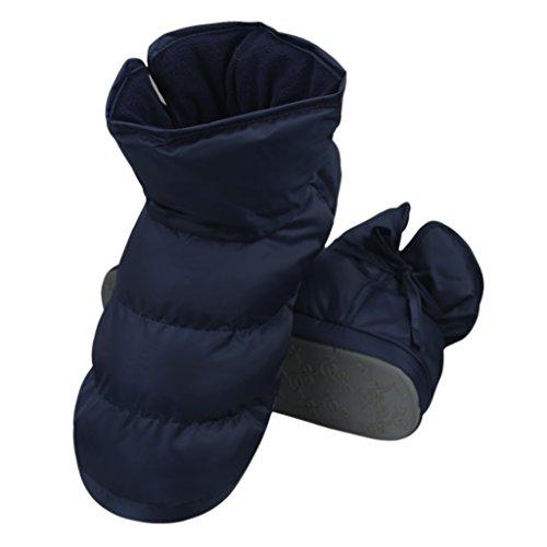 Bottes Cadeau antidérapantes Cyan Doublure Pantoufles Coton en légères Noël JINTN pour Chaussons et Chaussures de d'intérieur Maison Peluche Hommes Unisexe en Velours Femmes Ultra wqPO4T0