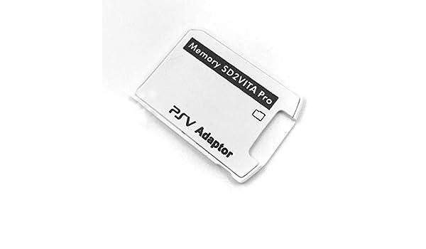 Haihuic Adaptador de Tarjeta de Memoria SD2Vita 6.0, PS Vita PSVSD ...