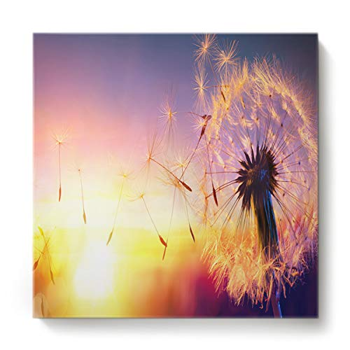 GreaBen Modern Canvas Wall Art Square Oil Painting
