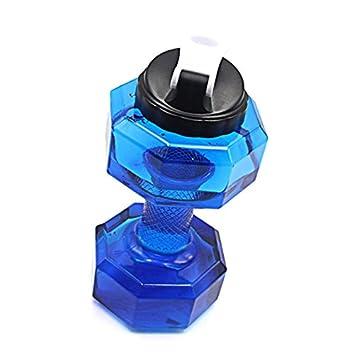 ... 2.2 l PETG Hervidor de pesas, gran botella de agua deporte pesa de gimnasia forma Gym fitness hervidor, Mancuernas: Amazon.es: Deportes y aire libre