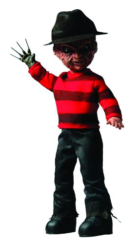 "Mezco Living Dead Dolls Presents: Classic Freddy Krueger 10"" Figure"