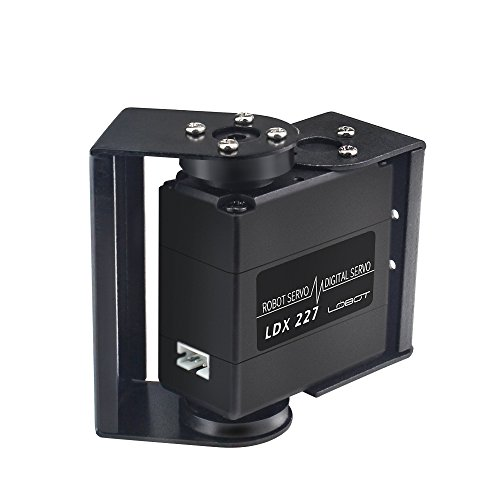 LewanSoul LDX-227 Full Metal Gear Standard Digital Servo with 17kg High Torque Dual Ball Bearing for Robot(Control Angle 270) ()