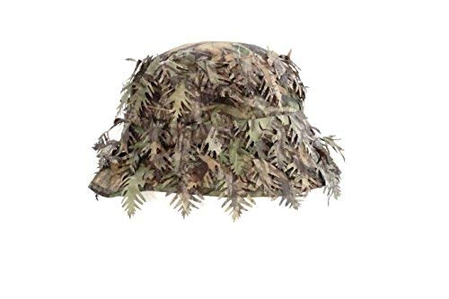 QuikCamo Mossy Oak Obsession Camouflage 3D Leafy Bucket Hat Hunting Face Mask Combination (60cm, 7 5/8, Lrg/XL) by QuikCamo (Image #2)