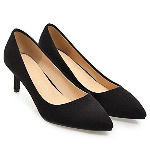 Women On Court Slip 6CM Stiletto Coolcept Black Shoes aRdwwA