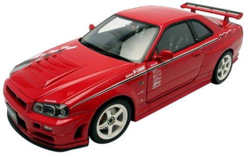 Nissan Skyline R34 Nismo Z-Tune Version 2000 rot