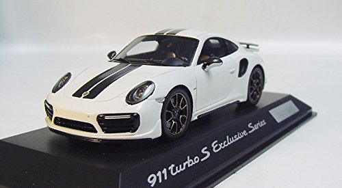Amazon.com: Spark Spark 1/43 Porsche 911 (991) Turbo S white / black custom-made: Toys & Games