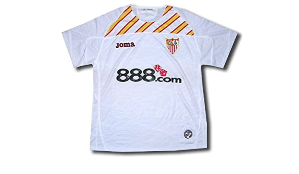 Joma Sevilla F.C. - Camiseta de fútbol UEFA, 2009, XL: Amazon.es ...