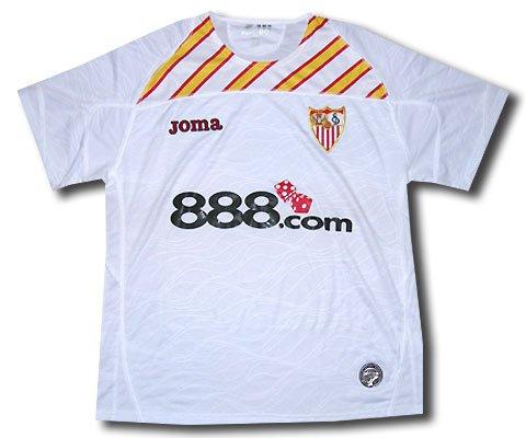 Joma Sevilla F.C. - Camiseta de fútbol UEFA, 2009, XL: Amazon.es: Ropa y accesorios