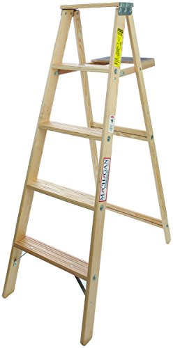 (5 ft Wood Step Ladder with 200 lb. Load Capacity)