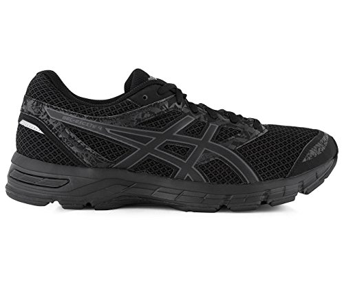 ASICS Mens Gel-Excite 4 Running Shoe, Black/Carbon/Black, Size 10.5