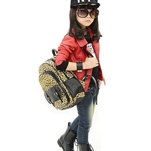 Lookatool® Children Girl Fashion Outerwear Leatherwear Jacket Coat Clothes (120, Red)