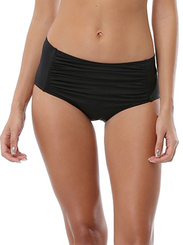 women swim short pants swimwear Black Swim Shorts bottom swimsuit Boardshort Size X-Large