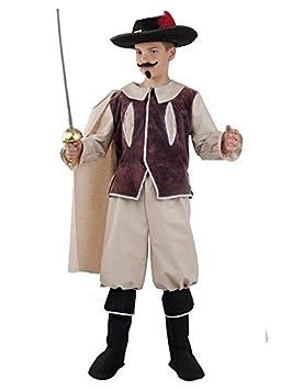 DISBACANAL Disfraz Mosquetero niño - -, 4 años: Amazon.es ...