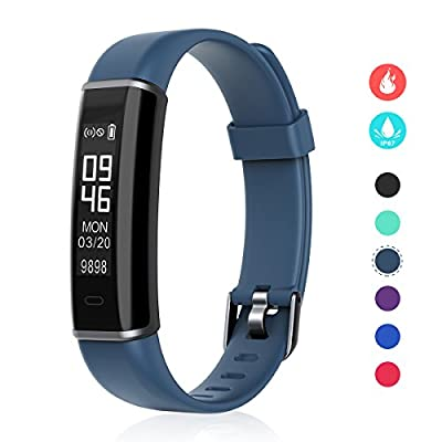 EFOSHM Fitness Tracker, Multi Sports Activity Tracker, Fitness Watch with Step/Distance/Calorie Counter, Waterproof Smart Watch for Android/IOS