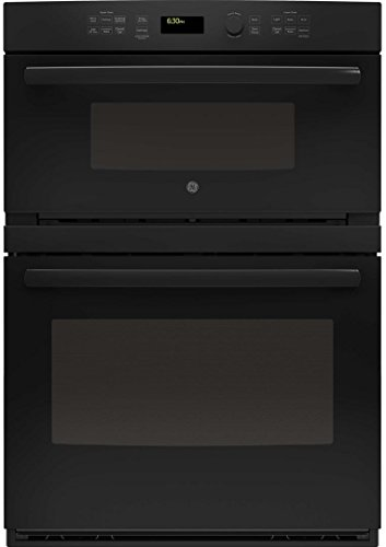 GE PT7800DHBB Profile 30″ Black Electric Combination Wall Oven – Convection