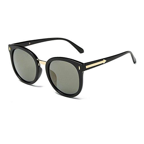 Aoligei Retro-Sonnenbrille ARROW Sonnenbrille Frauen Stil große Kiste helle Farbe Gläser EFZCkVil0