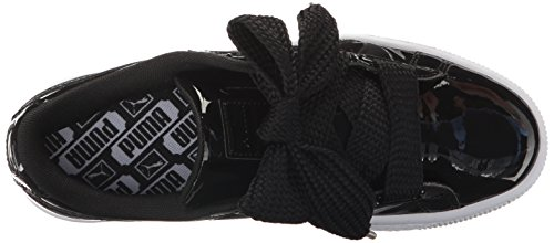 Puma Kvinders Kurv Hjerte Patent Wn Mode Sneaker Puma Sort-puma Sort QBnE7