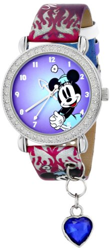 Ingersoll Women's IND25350 Minnie Wrist Art Charm Analog Display Quartz Multi-Color Watch
