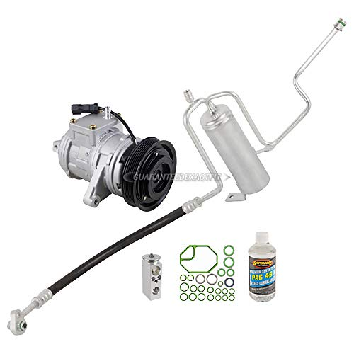 AC Compressor w/A/C Repair Kit For Jeep Grand Cherokee 2002 2003 2004 - BuyAutoParts 60-80284RK New