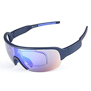Polarized Sports Sunglasses for Men Women Cycling Running Fishing Golf Baseball