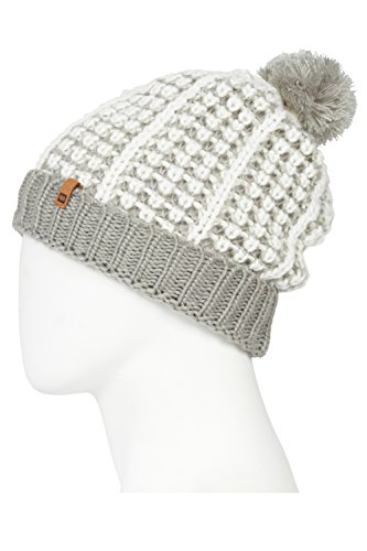 - 686 Women's Bella Pom Beanie | One-Size | Grey
