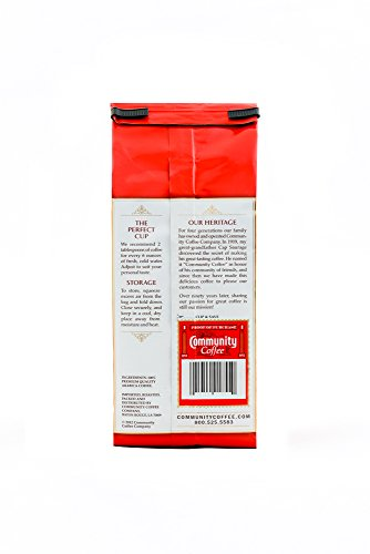 Community Coffee Whole Bean Coffee, Signature Dark Roast, 12 oz., 3 Count