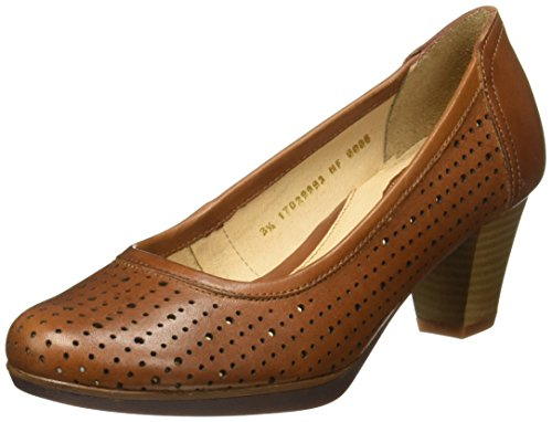para de Zapatos Mujer Tacón Hush HF8006 Café Puppies CqwHqfB
