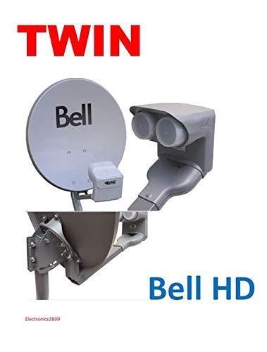 Used, New 20 in Bell Dish & Dish PRO DP Plus Twin LNB & DPP for sale  Delivered anywhere in Canada