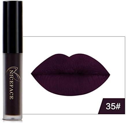 8 Colores Profesional Pintalabios Mate Labial de Maquillaje Larga Duracion para Niñas por ESAILQ F: Amazon.es: Belleza