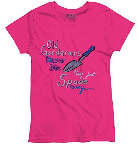 Old Gardeners T Shirt Gardening Gifts For Women Gift Ideas Ladies T-Shirt