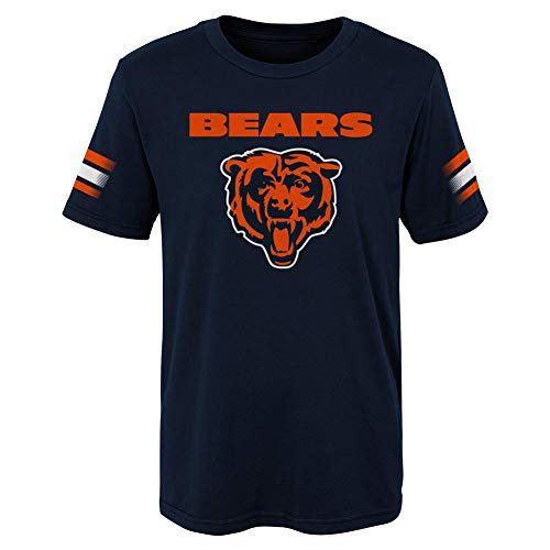 Outerstuff Kids Chicago Bears Tee Goal Line Short Sleeve T-Shirt (YTH (14-16))