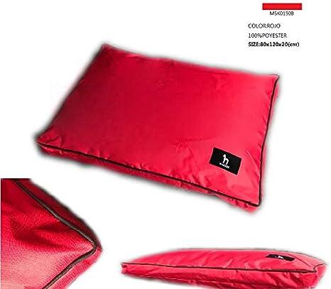 Colores Rojo Sof/á para Perros Grandes Impermeable Lavable Gris Cama de Perros Azul 80x120x20 cm, Gris Marr/ón o Negro.
