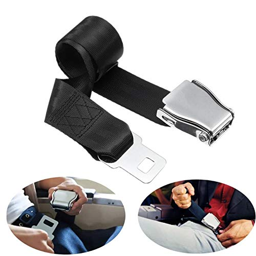 TOOGOO 10X Seat Belt Buckle Clips Retainer Seatbelt Stop Button Car Truck SUV Beige R