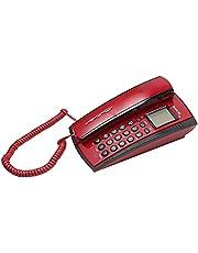 هاتف أرضي سلكي من العدل.تك - أحمر 10