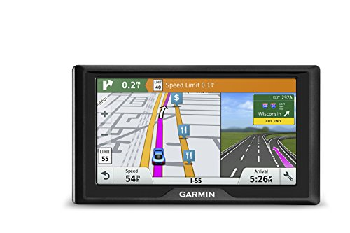 Garmin Drive 60 USA LMT GPS Navigator System with Lifetime Maps and Traffic, Driver Alerts, Direct Access, and Foursquare data by Garmin