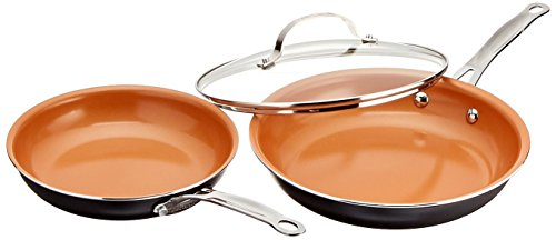 Gotham Steel 12 Piece Copper Kitchen Set With Non Stick Ti