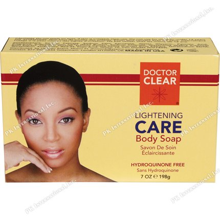 Doctor Clear Lightening CARE Body Soap 7oz (Reviews Skin Lightening Cream)