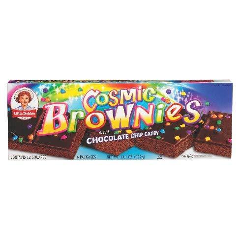 Little Debbie Cosmic Brownies Big Pack 28 Oz (3 Boxes)